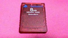 【即決】SONY製☆PS2用メモリーカード