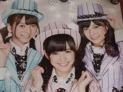 【パチンコ AKB48 M05 君のC/W】ポスター まゆゆ ぱるる あきちゃ