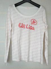 N2m LIZ LISA 白 長袖 Tシャツ リズリサ