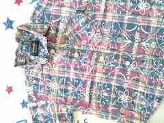 Wranglerボタンシャツ半袖ポケット付サイズ80�p美品
