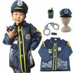 子供用 警察官 コスプレ 5点セット ポリス衣装 1/BDV