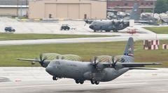 アメリカ空軍 C-130J-30 HERCULESU パッチ