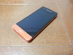 即落/即発!!美中古品 SO-05D Xperia SX オレンジ