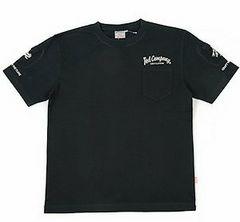 テッドマン/3ポケットTシャツ/黒/tdss-470/エフ商会/カミナリモータース