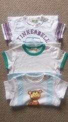 ティンカーベル Tシャツ 3枚セット