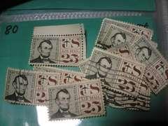 外国の切手 「アメリカ」 (80)