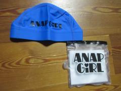 12026 ANAP 新品スイムキャップ(フリーサイズ)