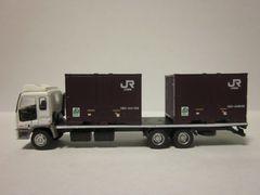 ザ・トラックコレクション第10弾 いすゞギガ白 JR19Dコンテナ搭載車