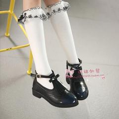★新品★靴下 ハイソックス 白 3−12歳 16〜20 140