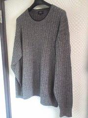 23区スポーツウール100長袖セーター5美品