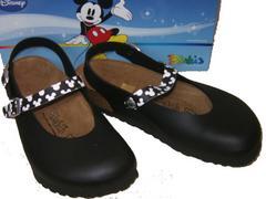 ビルケンシュトック ビルキ ミッキーマウス ディズニー黒リカ7