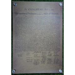 新品【ポスター】アメリカ独立宣言 -1776年7月4日-