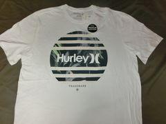 ハーレー【PREMIUM】 ロゴプリントTシャツ US L WHT