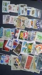 50円切手バラ色々50枚新品未使用品  5050