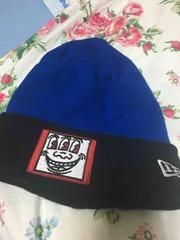 NEW ERA keith コラボ ニット帽