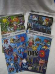 ドラゴンクエストモンスターズジョーカー3 ぬり絵付きクリアファイル全3種+全1種