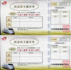JR九州 九州旅客鉄道 株主優待券 2枚