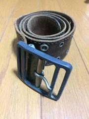 1スタ☆【激レア】イギリス製ヴィンテージベルト ブラウン