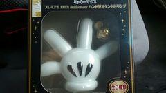 ディズニーミッキーマウス 110thアニバーサリーバンド型スタンド付きリング未開封新品
