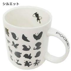 ◆ポケットモンスター 陶器製マグカップポケモン(シルエット)