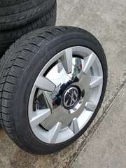 VW ザビートル 純正アルミホイールキャップ 18インチ カバー 1枚