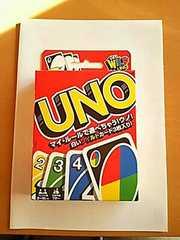 新品未開封 UNO カード ゲーム ウノ 説明書付き  カードゲーム