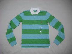 ow166 女 RALPH LAUREN ラルフローレン ラガーシャツ Sサイズ