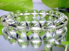 パワーストーン☆天然石!!水晶10ミリ数珠ブレスレット§浄化活性化