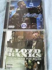 LLOYD BANKS!!2枚セット!!50 cent〓g-unit〓HIP HOP名盤