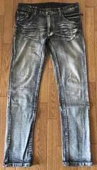 106■美品■ケミカルウォッシュジーンズ Mサイズ 切手払い可能