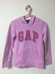 GAP kids ピンクパーカー size130美品