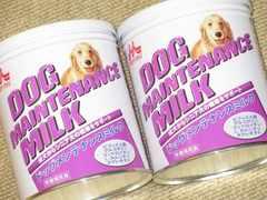 未開封☆ドッグメンテナンスミルク2缶セット*シニア犬