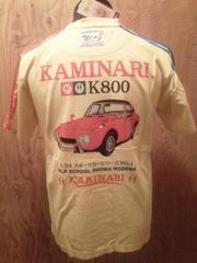 新作/カミナリ雷/Tシャツ/ヨタハチ/CUS/XL/KMT-62/エフ商会/テッドマン/東洋