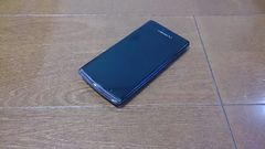 即落/即発!!美中古品 SH-04E AQUOS PHONE EX ブラック