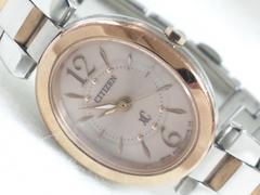 5230/シチズン定価5万円位xCクロスシーレディース腕時計ゴールドコンビモデル