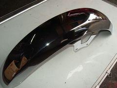 (967)RG250RG250Eメッキフロントフェンダー新品