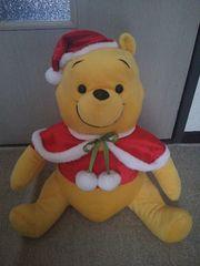 くまのプーさん ★ メガジャンボ ★クリスマスぬいぐるみ