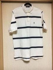 10スタ★中古★ラルフローレン:ポロシャツ(メンズ)( L L)
