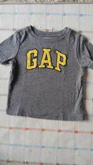babyGAP♪グレーロゴ半袖シャツ♪80�p