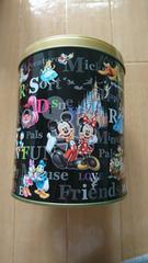 ディズニー おかしの缶