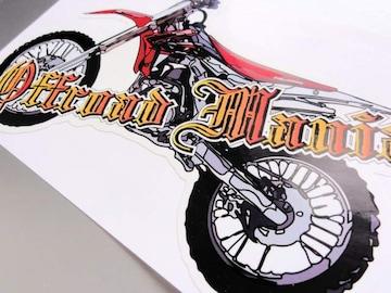 モトクロスバイク ステッカー■CRF250L XR250R XR CRM