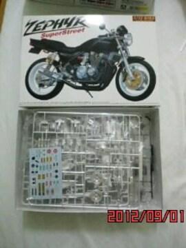 アオシマ 1/12バイクシリーズ カワサキ ゼファー スーパーストリート