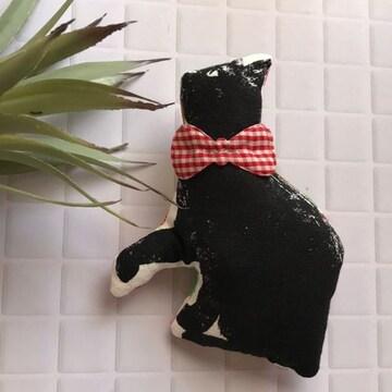 黒猫chanブローチ★handmade