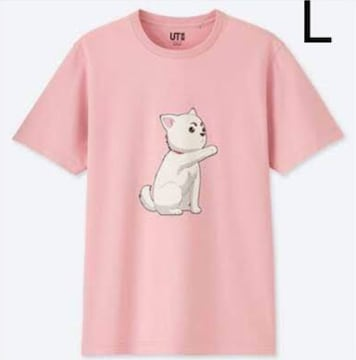 ユニクロ 銀魂 Tシャツ 定春