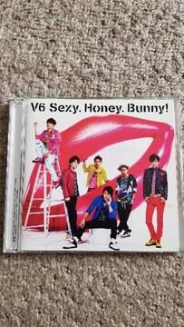 V6「Sexy.Honey.Bunny!/タカラノイシ」 Honey盤