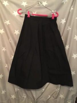 GU フレア スカート L サイズ 新品 完売品 ブラック