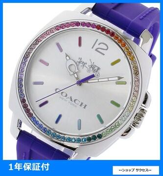 新品 即買い■コーチ COACH レディース腕時計 14502530 パープル
