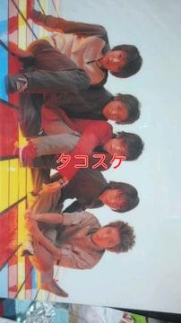 2001 ARASHI GA HARUNO ARASHI O YOBU concert グッズ 下敷き