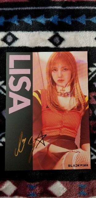 BLACKPINK/LISA  (ポストカード)  < タレントグッズの