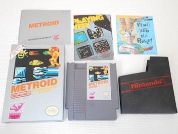 FC★METROID NES 海外版(国内本体動作不可)